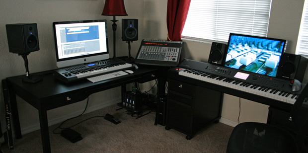 Phenomenal Imac Home Music Production Largest Home Design Picture Inspirations Pitcheantrous