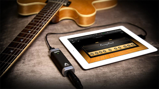 Three Easy Music Recording Setups for Guitarists - Apogee Jam iPad