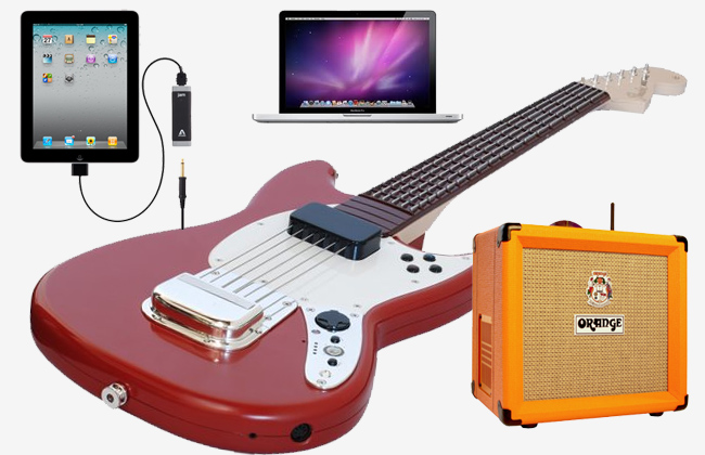 Marvelous Three Easy Music Recording Setups For Guitarists Home Music Largest Home Design Picture Inspirations Pitcheantrous