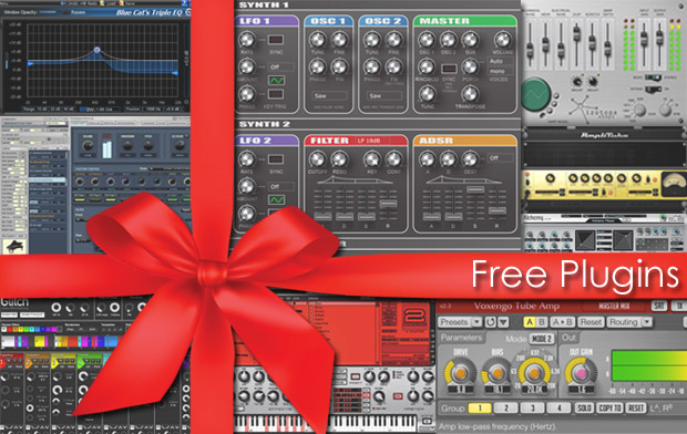 Free Virtual Instruments and Effects Plug-ins | Home Music Production