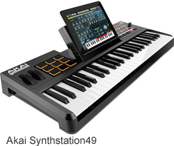 Akai Synthstation49 - iPad Integrated Music Production Hardware
