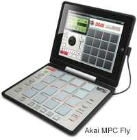 Akai MPC Fly - iPad Integrated Music Production Hardware
