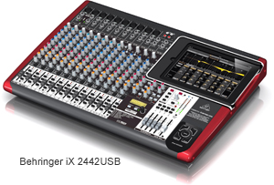 Behringer-iX2442USB - iPad Integrated Music Production Hardware