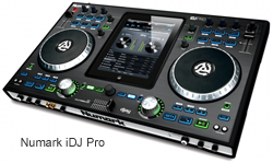 Numark iDJ Pro - iPad Integrated Music Production hardware