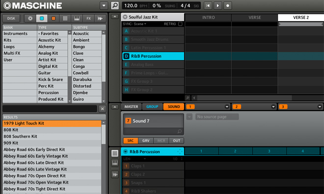 Virtual Drums that Rock! NI Maschine Screenshot 1