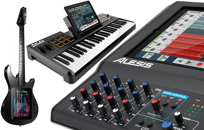 iPad Integrated Music Production Hardware | Home Music Production