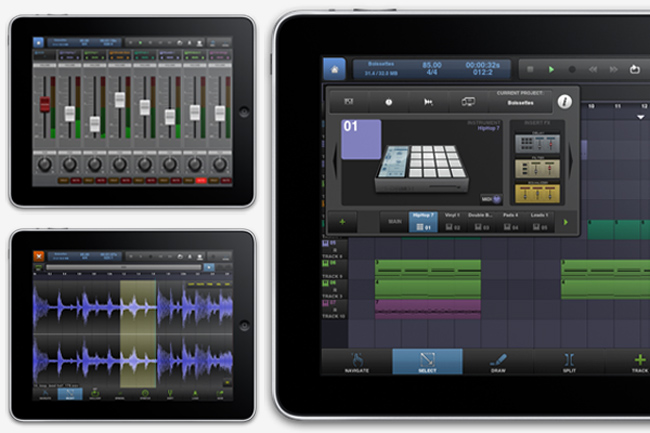 iPad Mobile Digital Audio Workstation DAW App Comparison