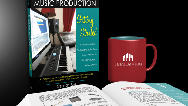 Home Music Production Getting Started Book by Stephan Earl