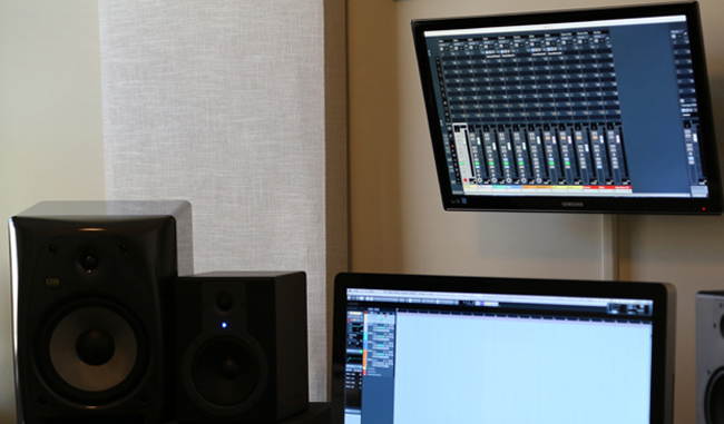 Build Acoustic Panels For Your Home Studio Home Music